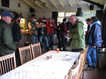 Briefing in kantine VCM