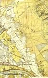 Tranchotkaart uit 1803 met verkavelingsstructuur